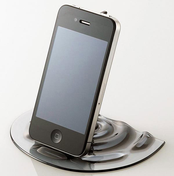 Nendo iPhone iPad Faucet Stand 06