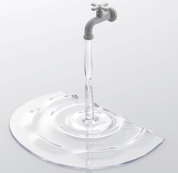 Nendo iPhone iPad Faucet Stand 08