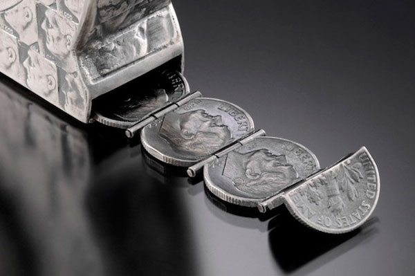 Not All That Glitters Is Useless: Metal Artist Coins Art ...