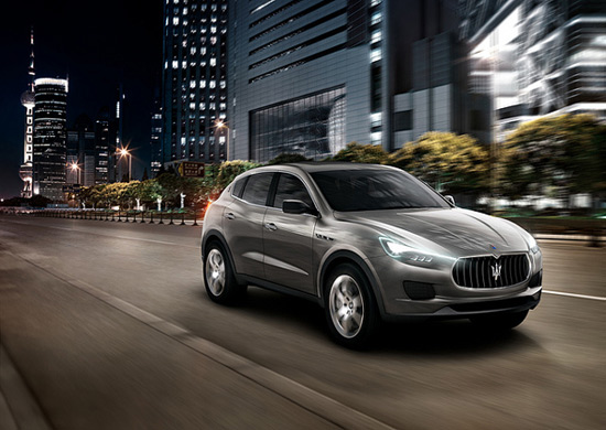 Maserati Luxury SUV 03