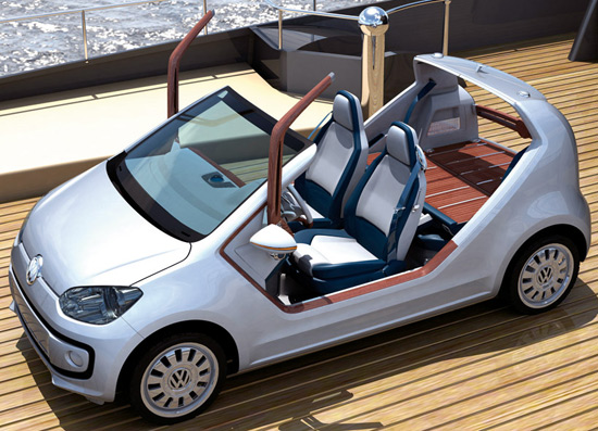 Volkswagen Up! Small Family Concept Car 01