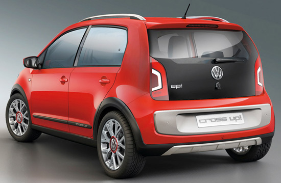 Volkswagen Up! Small Family Concept Car 09