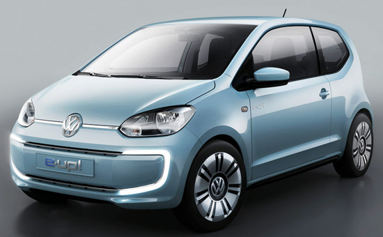 Volkswagen Up! Small Family Concept Car 12