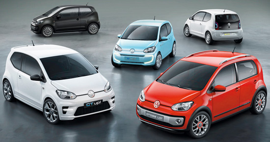 Volkswagen Up! Small Family Concept Car 15