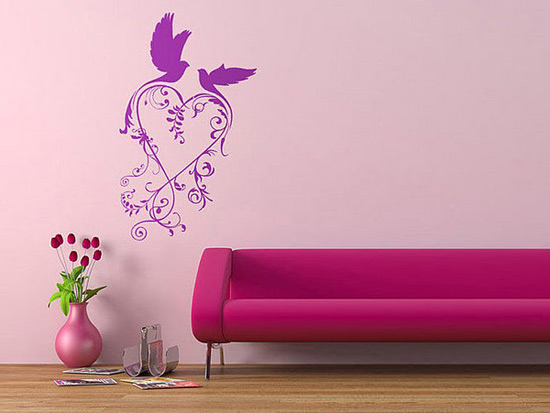 Wall Art Stickers Not On The High Street : Not on the high street decals update wall d?cor concepts