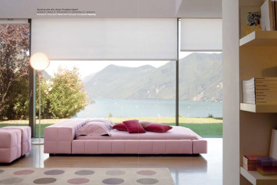 Sleep Becomes Art In Bonaldo Made Beds