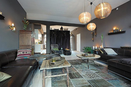 Arabesques Grace Interiors Of Lavish Vintage Modern Apartment
