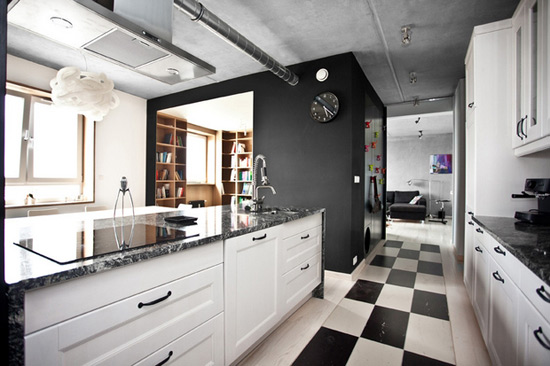 Young Couple, Clever Designers at mode:lina Architekci Update Cool Loft