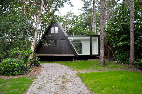 Contemporary German Forest Chalet by dmvA on old german timber house, small german house designs, old german fashion, old swiss house designs, old german cooking, old german doors, old english house designs, old german bedroom, old german cottage, old mansion floor plans, old german furniture, old german towns, old german house layouts, old german painting, old german photography, old german architecture, old german lighting, old german interior, farmhouse designs, old austrian house designs,