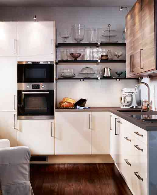 small kitchen design diverse-finishes