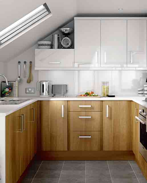 small kitchen design -loft-kitchen