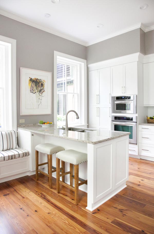Small Kitchen Design Central Island
