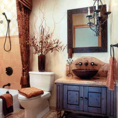 13 small bathroom modern interior design ideas for Warm bathroom