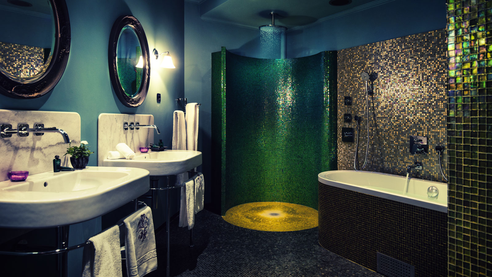 home design for eccentric couples bathroom - Bathroom Designs For Couples