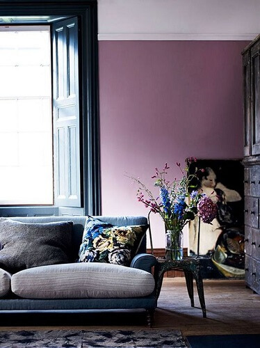 deep plum living room color ideas