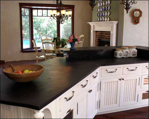 Countertop Material That Looks Like Soapstone : Kitchen Countertop Ideas: Choosing the Perfect Material for your ...