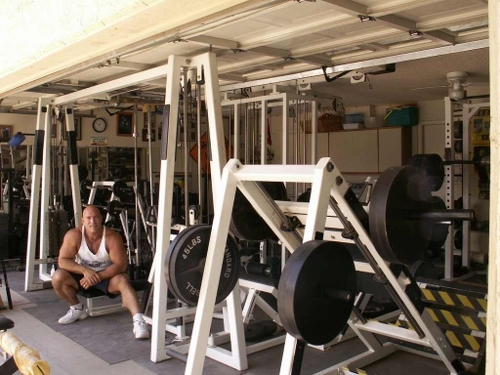 Home gym ideas sweat it out in your own