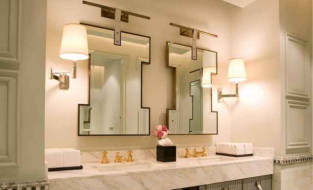 large bathroom mirrors puzzle mirror