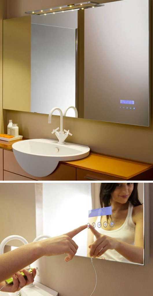 large bathroom mirrors touch screen mirror