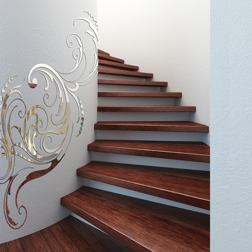 wall decor ideas laser cut mirrors