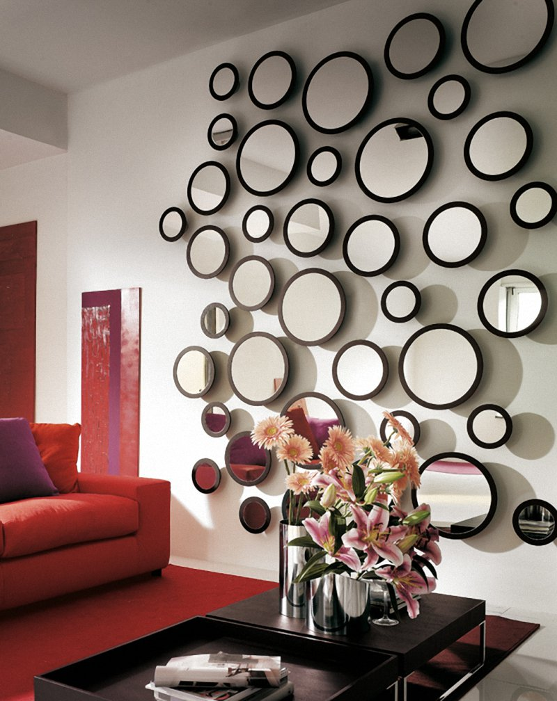 wall decor ideas mirrors