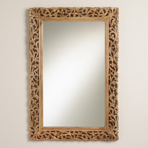 large bathroom mirrors wooden frame mirror