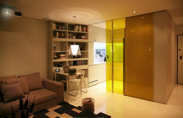 small apartment furniture movable walls sliding doors
