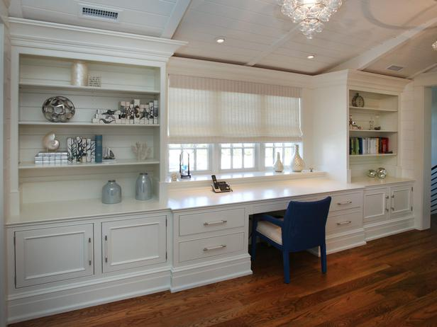 home office design wall length workspace