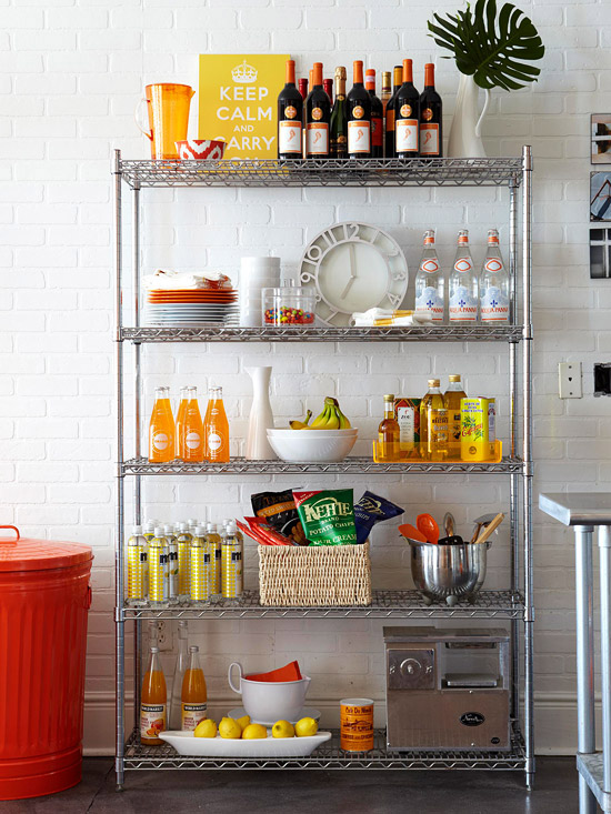 storage ideas for small spaces on a budget