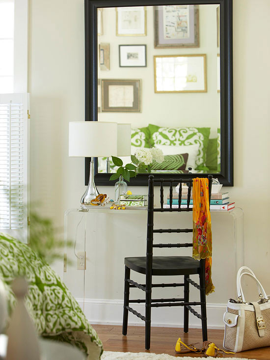 small apartment furniture mirrors for small spaces