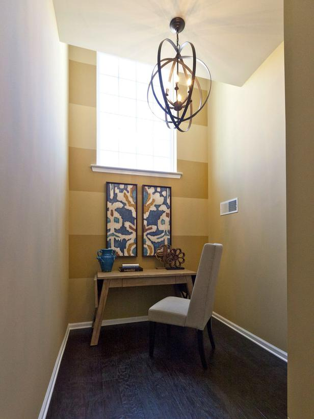 home office design bold patterns