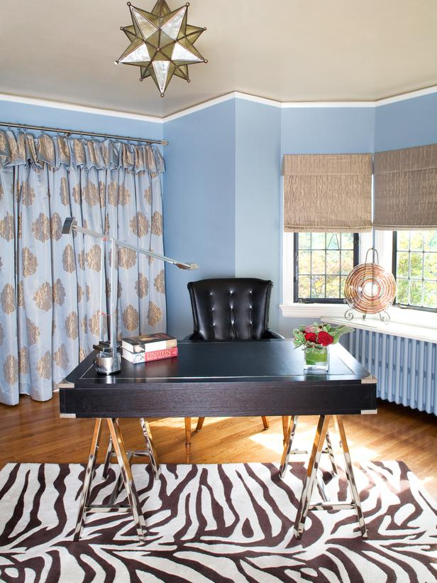 home office design eclectic contemporary