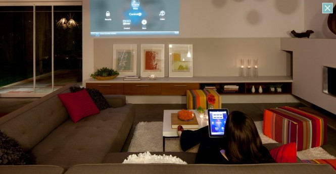 Living Room Decorating Ideas High Tech Remote Control