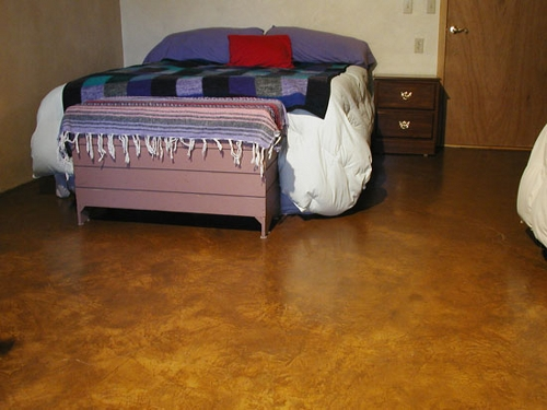 rustic home decor ideas earthen floor