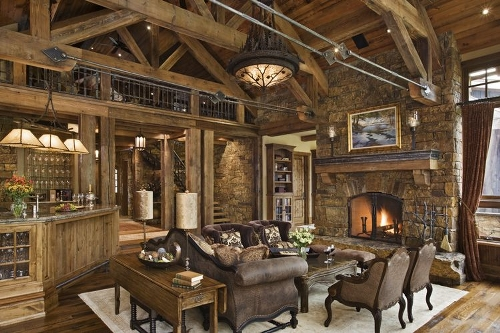 rustic home decor design-in-ontario-great-room