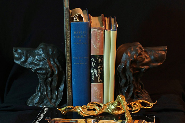 vintage accessories bronz bookends