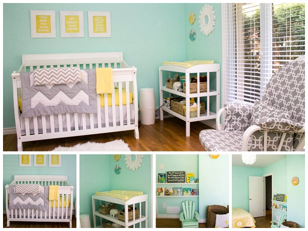 baby nursery collage