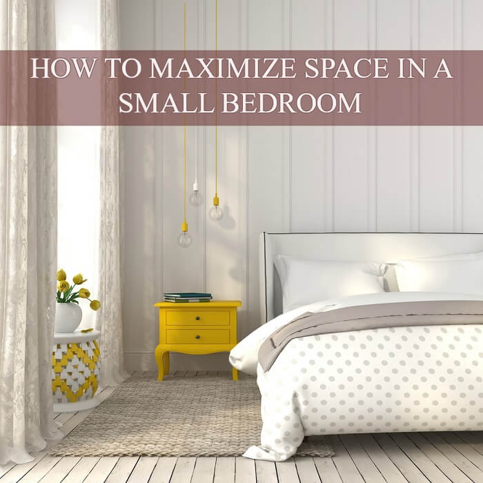 15 tips on how to maximize space in a small bedroom Maximize a small bedroom