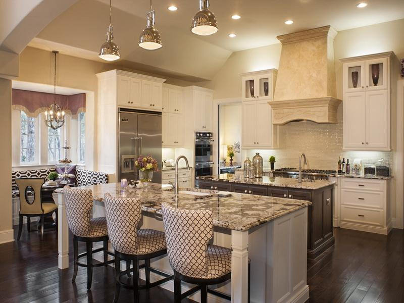 moderna nd contemporary family - friendly kitchen in a white accent
