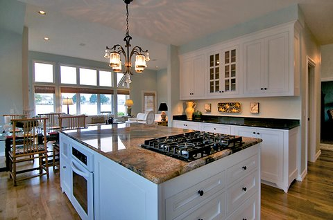 Fully Functional kitchen Island (Electricity and Water)
